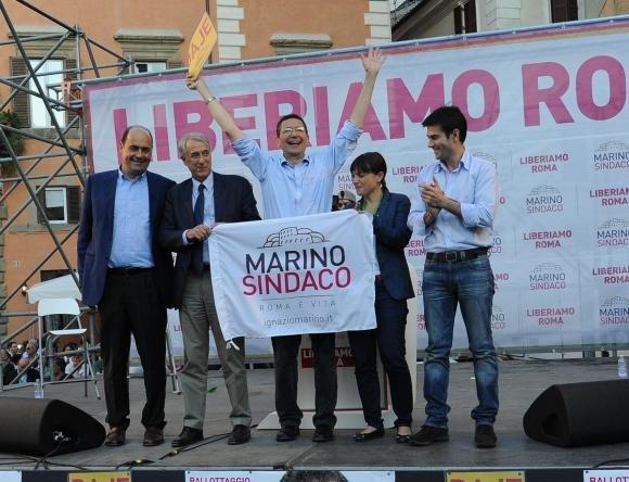 Ignazio Marino è il nuovo sindaco di Roma, Alemanno staccato