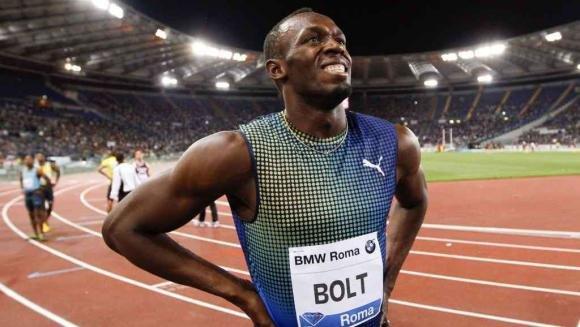 Golden Gala a Roma, Usain Bolt battuto da Gatlin