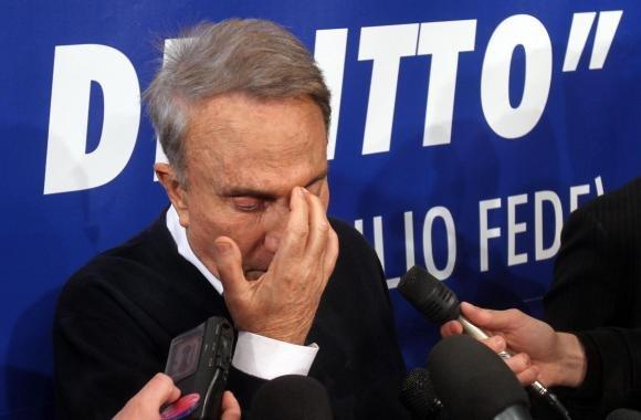 """Emilio Fede choc: """"Ho pensato di farla finita"""""""
