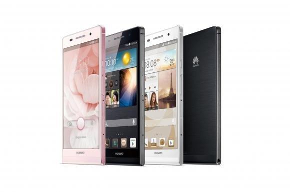 Huawei Ascend P6, lo smartphone più sottile al mondo