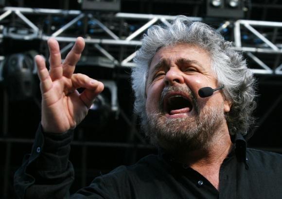 """Beppe Grillo: """"Chiedo un incontro con Napolitano"""""""