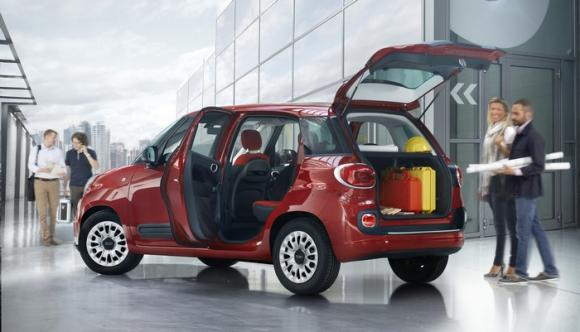 Fiat 500L Pro: l'MPV italiano diventa veicolo commerciale