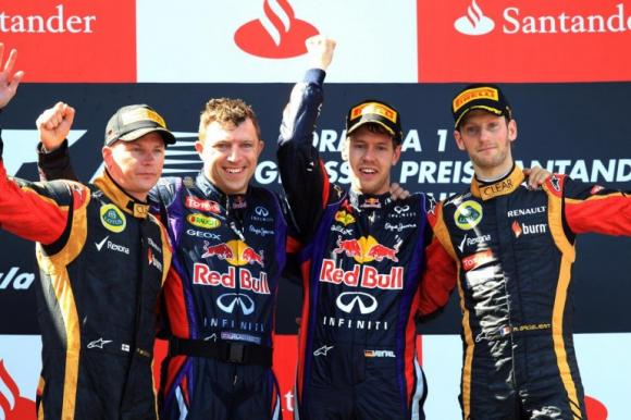 F1, Gp Germania: vince Sebastian Vettel, Alonso 4°