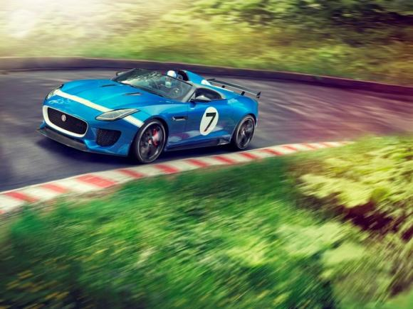 Jaguar Project 7 al Festival of Speed di Goodwood 2013