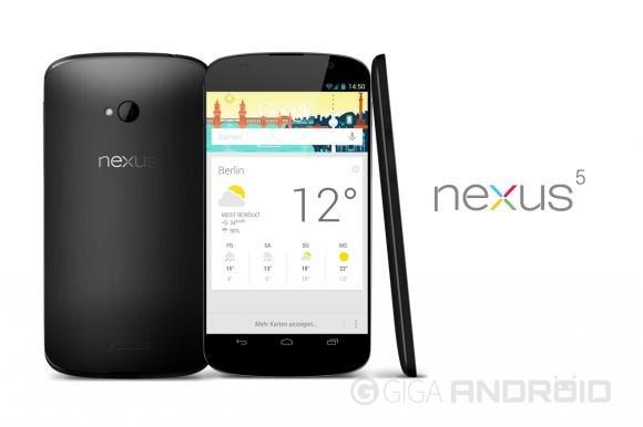 Nexus 5, presentazione ad agosto ed uscita ad ottobre