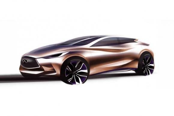 Infiniti svelerà il concept Q30 al Salone di Francoforte 2013