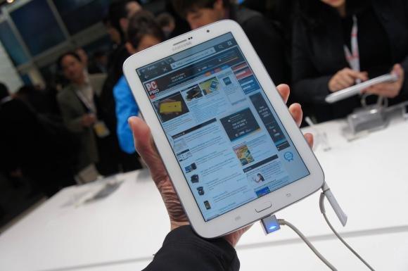 Samsung Galaxy Note 8.0, il nuovo tablet presentato al MWC 2013