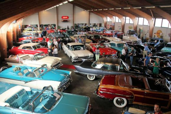 "110 Cadillac vintage al ""Grand European meeting 2013"""