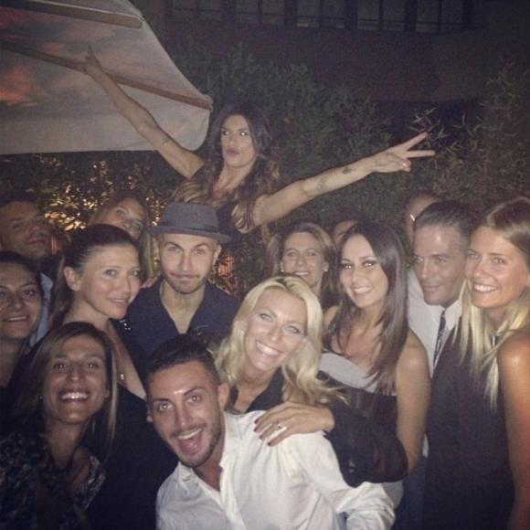 Super party per il compleanno di Elisabetta Canalis