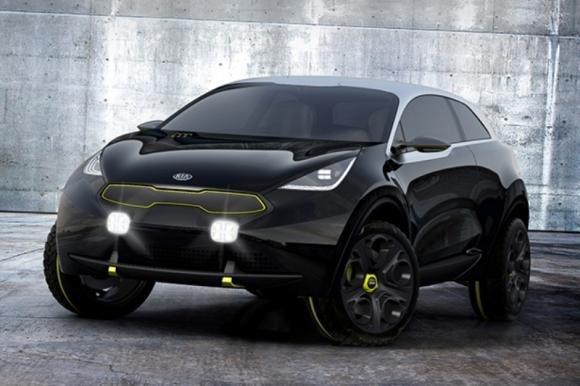 Il concept Kia Niro al Salone dell'Auto di Francoforte 2013