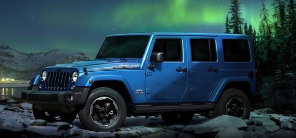 La nuova Jeep Wrangler Polar debutta al Salone dell'Auto di Francoforte 2013