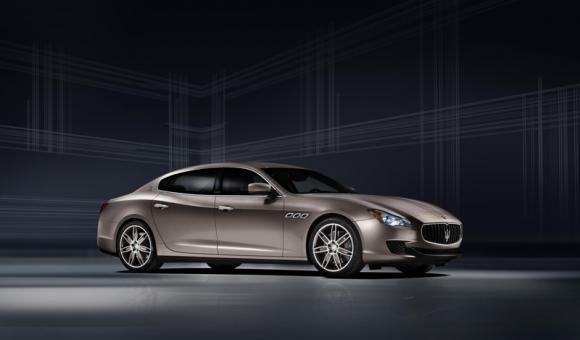 Maserati Quattroporte Ermenegildo Zegna Limited Edition al Salone dell'Automobile di Francoforte 2013