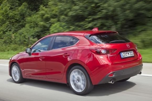 Nuova Mazda3 al Salone dell'Automobile di Francoforte 2013