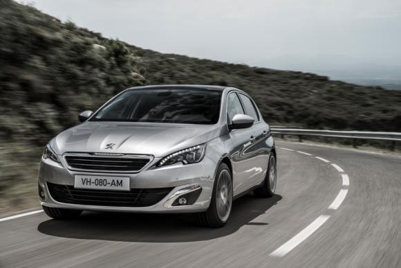 Nuova Peugeot 308 al Salone dell'Automobile di Francoforte 2013