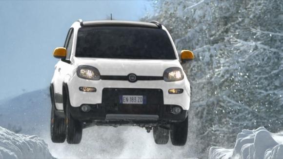 Fiat Panda 4×4 Antartica, nuovo spot in onda
