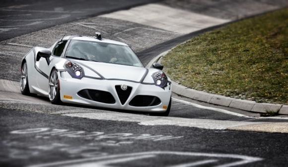 Alfa Romeo 4C al Nürburgring: 8'04'' sulla Nordschleife