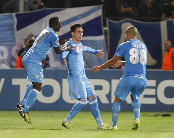 Marsiglia-Napoli 1-2. E' super Napoli