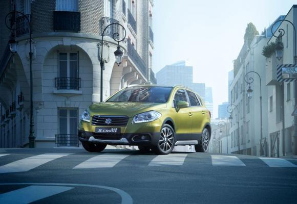 Il nuovo crossover Suzuki SX4 S-CROSS