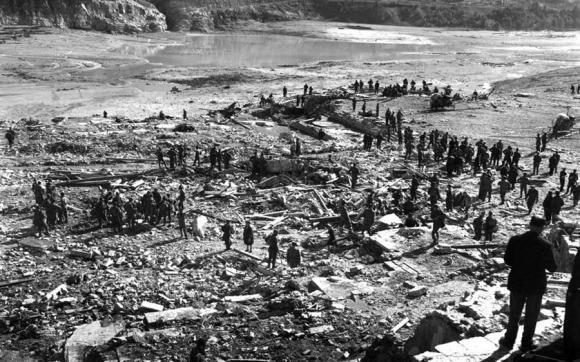 Vajont, 50 anni fa la tragedia