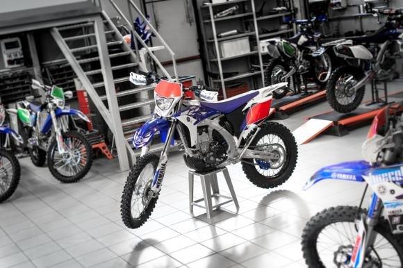 "Nuovo Yamaha WR 450 F Kit ""Replica"""