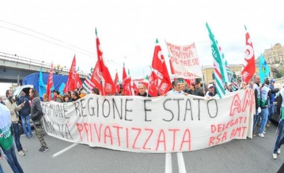 Genova, prosegue lo sciopero dei trasporti