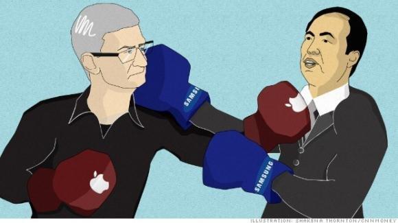 Brevetti, Samsung deve pagare 290 milioni a Apple