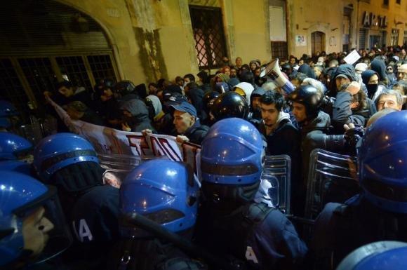 No Tav, scontro a Roma per il vertice Italia-Francia