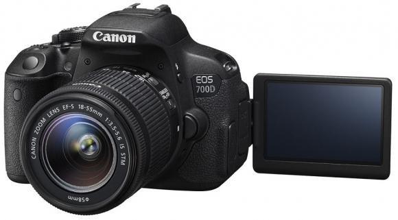 La nuova Canon EOS 700D
