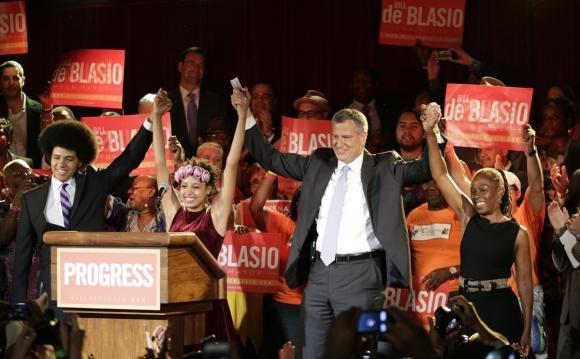 New York, Bill de Blasio è il nuovo sindaco