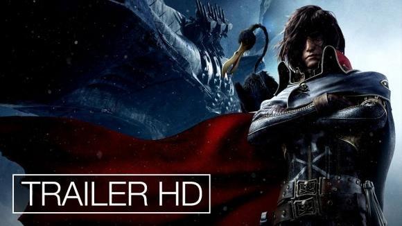 Capitan Harlock 3D: il trailer del film d'animazione giapponese