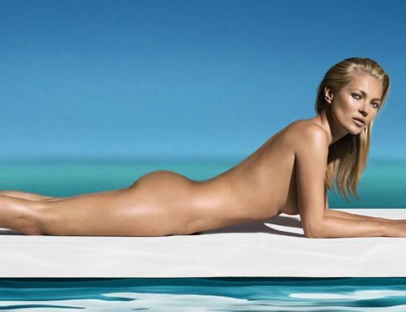 Il compleanno della famosa modella Kate Moss