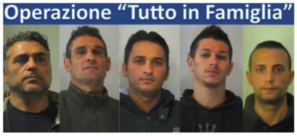 Milano: arrestata una famiglia di Palermo per rapine tra Milano e Torino