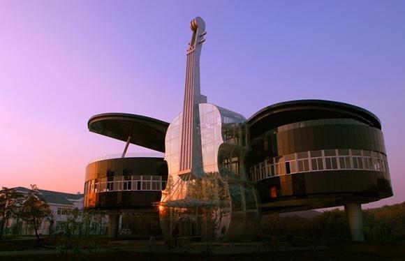 Piano House, l'edificio ispirato alla musica