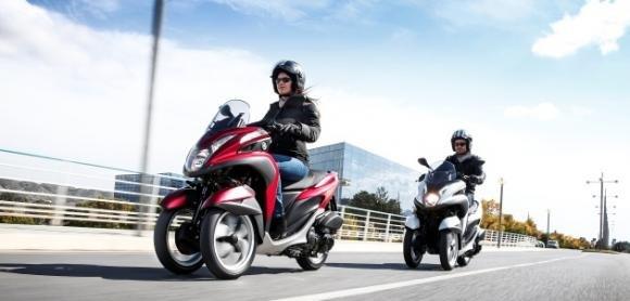 Yamaha Tricity, tre ruote per muoversi in città