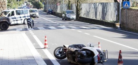 Rosario Fiorello: incidente in scooter