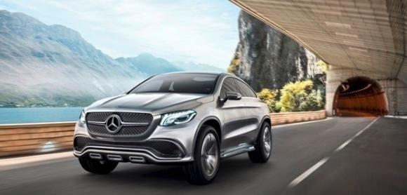 Mercedes-Benz Concept Coupé SUV, il futuro della Stella