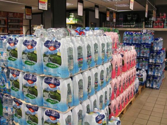 Acqua Coop Monte Cimone: ritirata dalla vendita per malori
