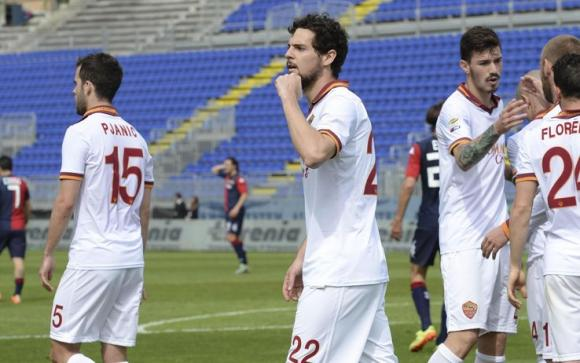 Serie A: la Roma non molla, il Catania è quasi in B