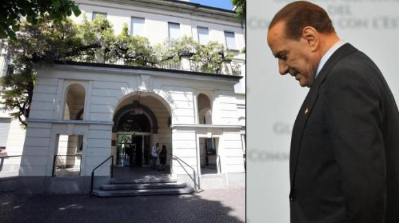 Silvio Berlusconi in prova ai servizi sociali