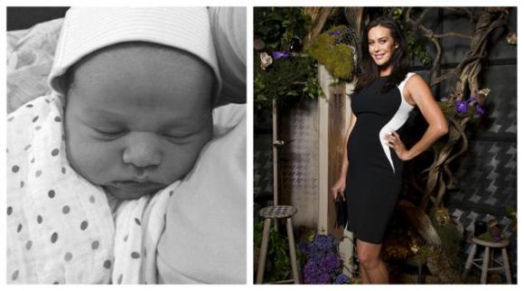 Megan Gale mamma. E' nato il piccolo River Alan Thomas