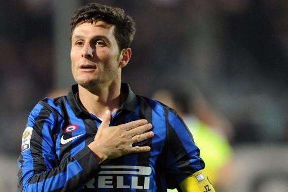 Poker dell'Inter alla Lazio nella serata di Zanetti