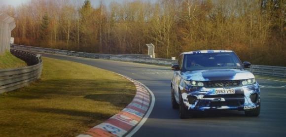 Range Rover Sport SVR, il prototipo debutta alla Goodwood Hill