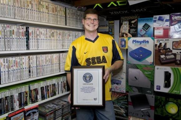 Una collezione di videogiochi da Guinness in vendita