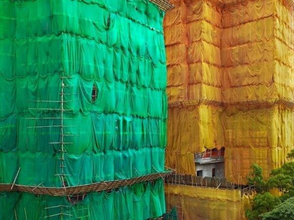 La costruzione di edifici diventa artistica: la trovata a Singapore