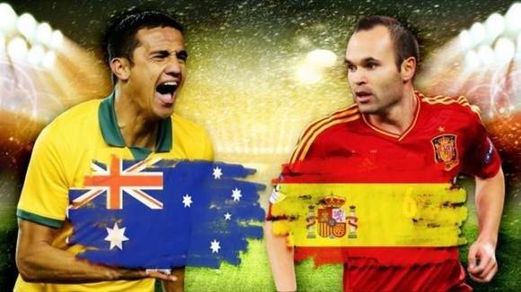 Australia-Spagna 0-3: le furie rosse salvano la faccia