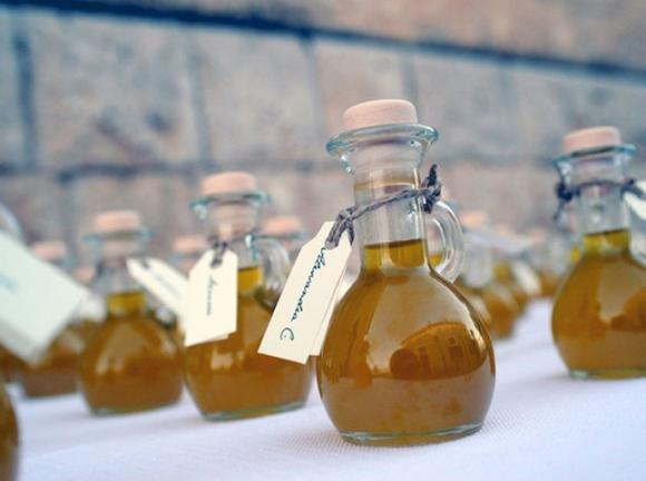 Oro giallo di Sicilia: l'olio è anche bomboniera