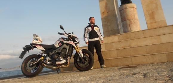 Yamaha MT-09 Street Rally e Aiossa, una Transiberiana record