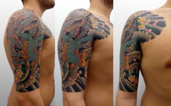 Tatuaggi al braccio