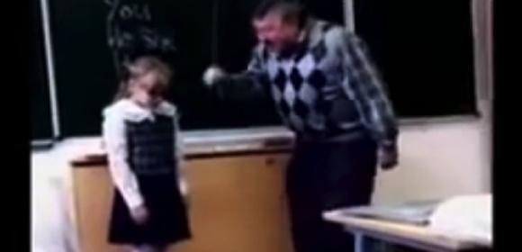 Maestro maltratta l'alunna. Lei si ribella