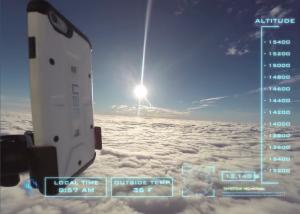Mandano un iPhone 6 nello spazio, ecco l'incredibile video